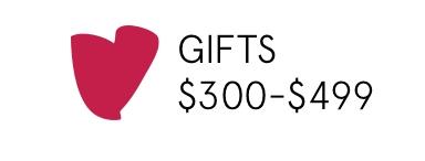 Shop gift between $300-$499