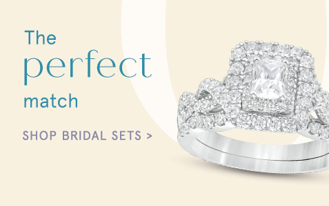 7476b25dc All Engagement & Wedding Rings. Shop Now> · The Perfect Match. Shop Bridal  Sets>