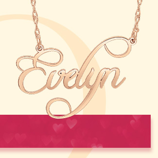 Shop Personalized Jewelry>