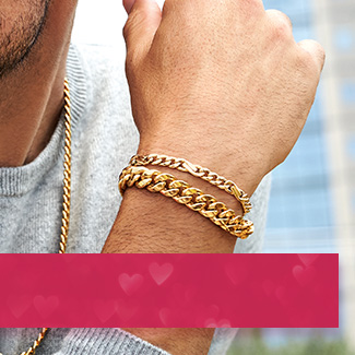 Bracelets for Him. Shop Now>